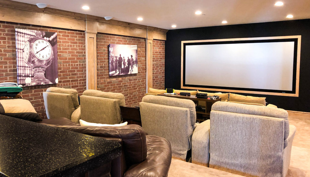 Bright Home Theater System with New York Theme